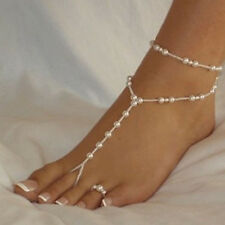 WHOLESALE Women Anklet Pearl Anklet Foot Chain Elegant Beach Anklet Charm Jewely