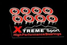 608 STAINLESS ABEC-11 XTREME ALL WEATHER BEARINGS SKATEBOARD SCOOTER LONGBOARD*