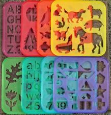 TUPPERWARE TUPPERTOYS STENCIL + YOU CHOOSE ~ FREE SHIPPING