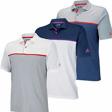 Adidas Golf Climacool Energy ColorBlock Polo Golf Shirt  2015 CLOSEOUTS Mens NWT
