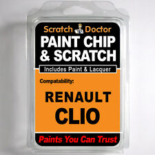 RENAULT CLIO touch up paint Chip Grattare AUTO KIT RIPARAZ. anno 2012 - 2014