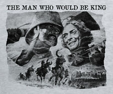 The Man Who Would Be King Movie T shirt Martini Henry Redcoat Pith Helmet Caine