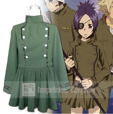 Katekyo Hitman Reborn! Chrome Dokuro Uniform Cosplay Costume Full Set FREE P&P