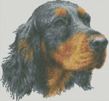 Cross Stitch Chart - Kit Gordon Setter Dog