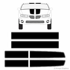 Pontiac G6 G8 GTO Grand Prix Grand Am EZ Rally Racing Stripes 3M Vinyl Decals