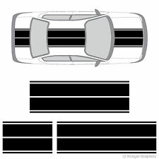 Dodge Neon or SRT-4 Dual Rally Racing Stripes 3M Vinyl Double Stripe Decals