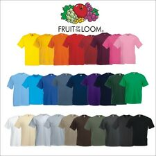 5 x Fruit of the Loom Value Weight T-Shirt Valueweight T-Shirts S-5XL ab 12,95€