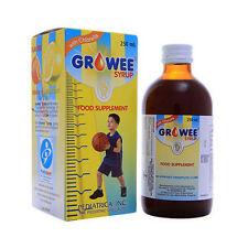 Growee Syrup Chorella Growth Factor Syrup and/or Drops 7 Months to 2+ Years