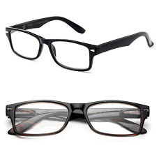 New Unisex Classic Simple Brandless Frame Fashion Clear Lens with Spring Hinges