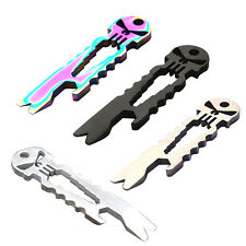 Skull Tactical EDC Multifunction Survival Tool Key Chain Bottle Opener New #T1K