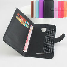 "For 5"" Micromax A116 Canvas HD Phone Multi-Color Folio Leather Case Cover Skin"