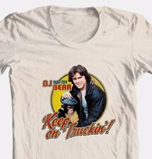 BJ and the Bear Keep On Truckin' t shirt 70's retro vintage TV show tee NBC537