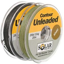 SOLAR HEAVYWEIGHT UNLEADED BRAID ALL WEIGHTS & COLOURS