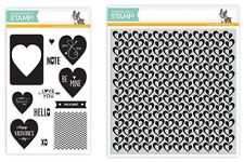 Simon Says Stamp U-Pick Valentine's Day Clear Polymer Stamp Set of Your Choice