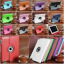 Rotating PU Leather Case Cover Swivel Stand for Apple iPad Air 5 5th 2 3 4 Great