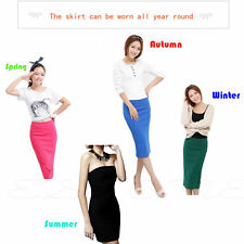 New Hot Fashion Girls Lady Two Ways to Wear High Elastic Slim Tube Top Hip Skirt