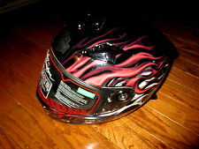 Adult Men's Harley Davidson Americana 3/4 Helmet Sz XS Hybrid Ultra Light Gloss