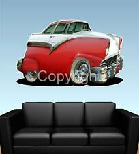 1956 Crown Victoria Ford Fairlane WALL GRAPHIC DECAL MAN CAVE MURAL 6343