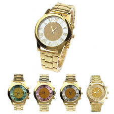 Fashion Unisex Watches Women Quartz Stainless Steel Watches Trendy Wrist Watch
