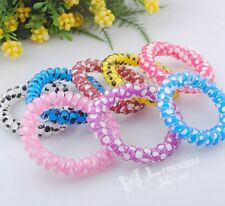 Fashion jewelry telephone line elastic hair band hair accessory Lots mix BE38