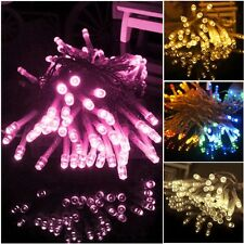Hot Battery 10/20/30/40 LED 1-4M Bulbs Christmas Fairy Party String Lights Lamps