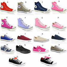 UNISEX CONVERSE ALL STAR CT HI LO TOP CANVAS LEATHER TRAINERS SHOES SIZE 5