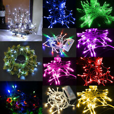 AA Battery Mini 10 LED 1M Home Christmas Wedding Party String Fairy Light Lamps
