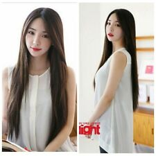 Hot Sell Sexy Women Fashion Long Straight Full Hair Cosplay Party Wig Wigs+Cap