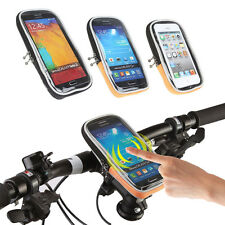 CYCLING BIKE BICYCLE FRAME IPHONE HOLDER PANNIER MOBILE PHONE CASE BAG POUCH