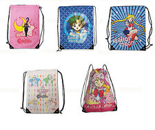 Sailor Moon Official Genuine Anime Drawstring Bag Backpack *NEW*