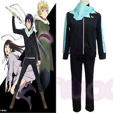 Noragami Yato Cosplay Costume Sports Suit Clothes Pants Scarf Lovers Costume