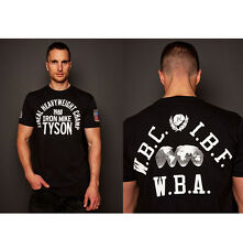 Roots of Fight Iron Mike Tyson 1988 T-Shirt - Vintage Black