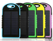 16000mAh Portable Waterproof Solar Charger Dual USB External Battery Power Bank