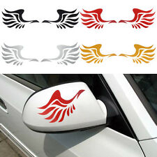 Hot Sale Fashion Wing Design 3D Decoration Sticker For Car Side Mirror Rearview