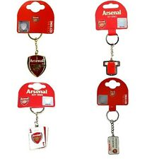 OFFICIAL ARSENAL FOOTBALL CLUB - KEYRINGS (Crest, Spinner,Metal Key Ring) (Gift)