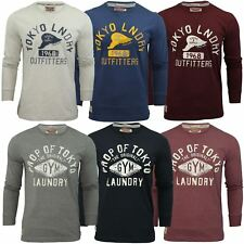 Mens Long Sleeved T-Shirt by Tokyo Laundry Crew Neck