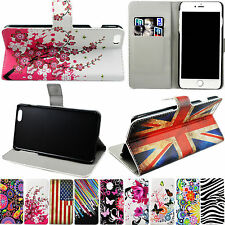 Magnetic Flip Stand Holder Card Wallet Slots PU Leather Case Cover For Cellphone