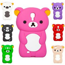 Mobile Phone Silicone Bumper Protective Case Galaxy S2 S3 S3mini S4 iPhone 4 / 5