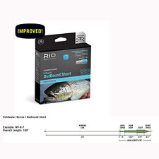 Rio InTouch Coldwater Outbound Short Fly Line, Intermediate, Free Ship & Backing
