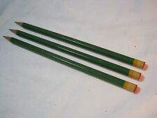 DIXON LEADFAST THINEX LIGHT GREEN 392 PENCIL LOT OF 3 VINTAGE      T*