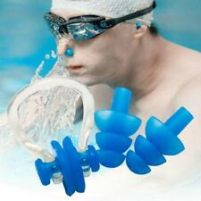 Waterproof Kids Adults Diving Swimming Ear Plugs And Nose Clip Set With Box Y