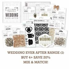 PAPERMANIA WEDDING EVER AFTER Docrafts DIY Stationery/Craft/Decor Range Part 1