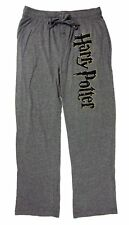 Mens Womens NEW Harry Potter Gray Pajama Lounge Sleep Pants Size S M & L