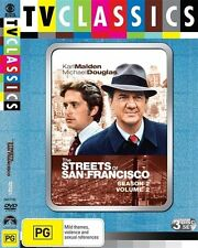 The Streets Of San Francisco: Season 2 : Vol 2 (DVD, 2009, 3-Disc Set), NEW