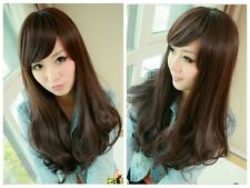 Sexy Women Fashion Long Wavy Wig Curly Hair Cosplay Costume Party Full Wigs+Cap