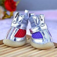 Hot Pet Puppy Winter Shoes Small Dog Mesh PU Warm Cotton Booties Boots Shoes J17