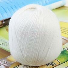 Soft Cashmere Polyester Wool Yarn Knitting Weaving 20 Colour