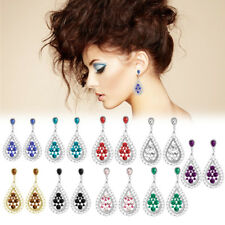 New Fashion Bosimia Style Rhinestone Earring Dangle Hook Ear Stud Gift