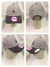 Dallas Cowboys 2015 New Era 9Twenty Women's Breast Cancer Player Onfield Cap Hat