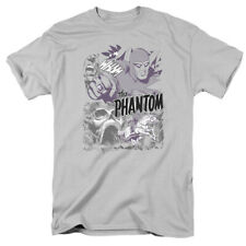 The Phantom Ghostly Collage Officially Licensed Adult Graphic Tee Shirt